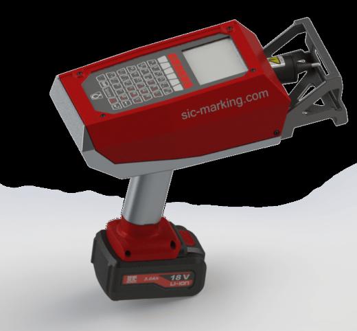 Máy khắc dấu laser không dây E-mark